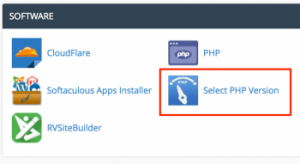 Use CloudLinux PHP Selector
