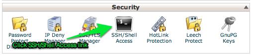SSL pane in cPanel